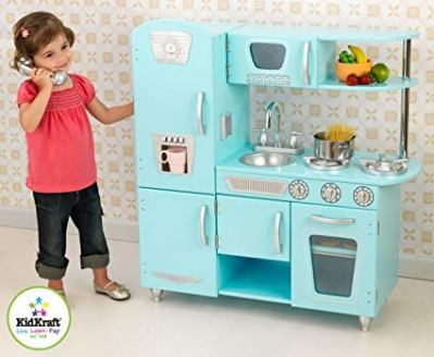 KidKraft Vintage Kitchen in Blue for $91.98 (reg: $146.93)