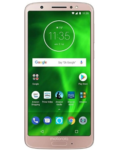 Moto G6 with Alexa Hands Free 32 GB for $129.99 Shipped! (Reg. Price $229.99)