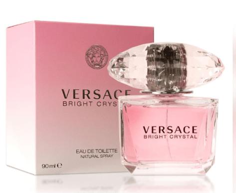 Versace Bright Crystal Eau De Toilette Spray Perfume for Women, 3Oz for $48.99