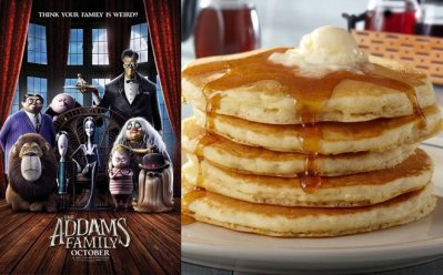 FREE IHOP Pancakes, $4 The Addams Family Movie Tickets (T-Mobile Tuesday)
