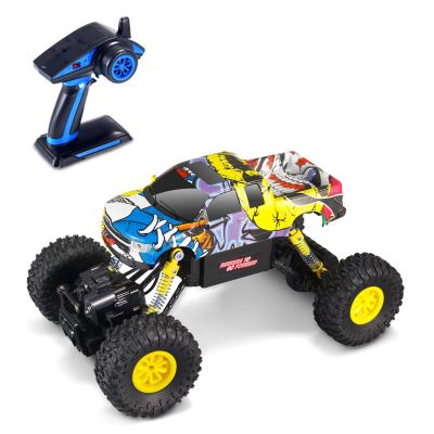Amazon : 2.4GHz 4WD RC Graffiti Rock Crawler with Lights Just $12.99 W/Code (Reg : $29.99) (As of 11/11/2019 2.52 PM CST)