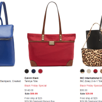 Macy's : Black Friday Special Handbag & Backpack Sale!