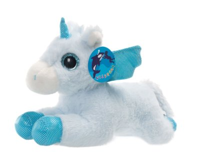 "Amazon : Blue Unicorn Sparkle Big Eyes 11"", Unicorn Plush Toy with Wings Just $3.99 W/Code (Reg : $11.99) (As of 11/12/2019 5.54 AM CST)"