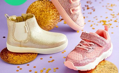 Carter's Glitter Sneakers ONLY $11.99 at Zulily (Regularly $42) – 4 Cute Designs!