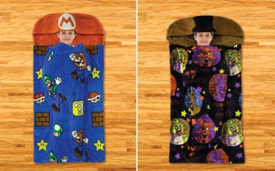 Kids Character Step-In Blankets ONLY $9.99 at Walmart (Paw Patrol, Super Mario)