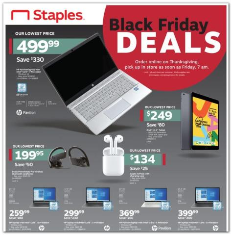 Staples Black Friday Ad 2019 Released