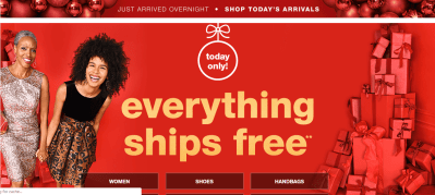 T.J.Maxx FREE SHIPPING TODAY!