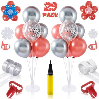"Amazon : 32"" Table Balloon Stand Kit 2 Set with 33Ft Balloon Tape Strip Just $6.90 W/Code (Reg : $22.99) (As of 11/11/2019 7.35 PM CST)"