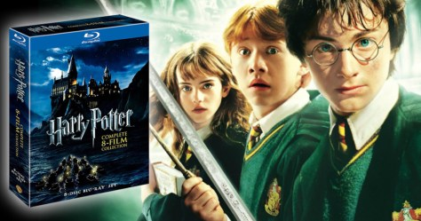Today, November 28th only, hop on over to Amazon where they are offering up nice buys on Harry Potter movie collections!  These Harry Potter Collections includes all eight films in the series so you can join Harry, Ron, and Hermione all the way from Platform 9-3/4 to Diagon Alley to all his adventures at Hogwarts. It would be a great gift.