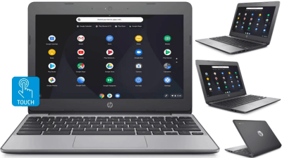 HP 11.6-Inch Touchscreen Chromebook for ONLY $159 + FREE Shipping (Regularly $260)