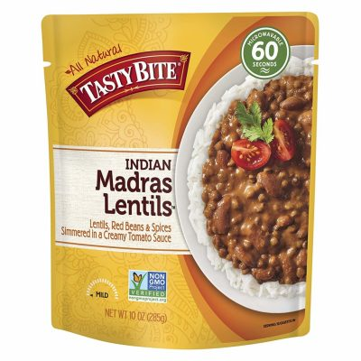 Amazon: SIX Tasty Bite Indian Entree Madras Lentil Packages Only $6.26 Shipped ($1.04/pkg)