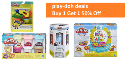 Play-Doh Deals (Buy 1 Play-Doh Set & Get 1 50% Off!)