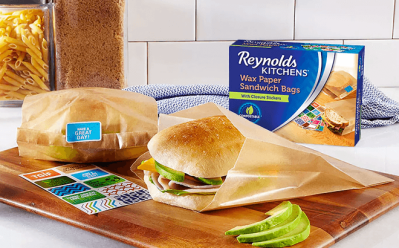 Reynolds Wax Paper 50-Count Sandwich Bags ONLY $2.79 at Target (Regularly $4)
