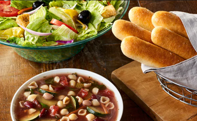 Olive Garden: Unlimited Soup, Salad & Breadsticks - Only $5.99