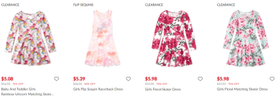 The Children's Place : Skater Dresses From $5.08!