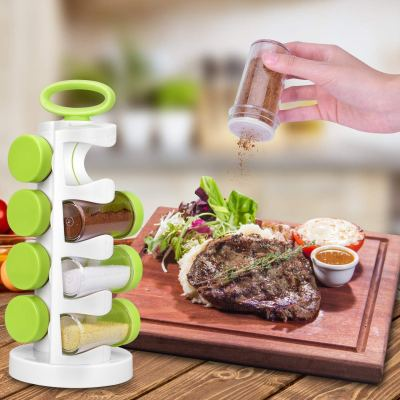 Amazon: Smile Mom Spice Rack 360 Revolving 8-Jar Countertop Spice Rack ONLY $5.19 With Code