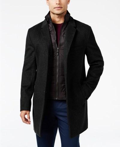 Michael Kors Men's Water-Resistant Overcoat for $99.99 (reg: $325) |BlackFriday Price