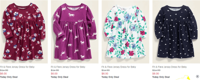 Old Navy : Dresses as Low as $6 (Reg : $30)