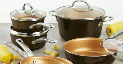 Ayesha Curry Home Collection 12-Piece Cookware Set Only $47.99 Shipped After Kohl's Rebate (Regularly $200)