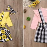 Amazon : Baby Girl Long Sleeve Suspender Skirt Outfits Just $3.45 W/Code (Reg : $21.99) (As of 12/06/2019 5.20 AM CST)
