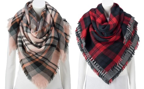 Women's Square Blanket Wrap ONLY $8.39 + FREE Shipping (Regularly $32)