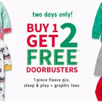 Carter's : Buy-1-get-2-FREE !!