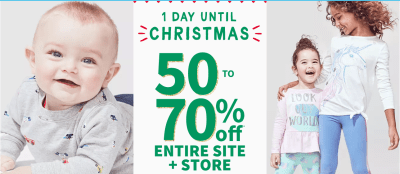 Carters : Up to 70% Off Everything Free Store Pick Up!