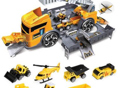 Amazon : Construction Truck Vehicle Car Toy Set Just $14.99 W/Code (Reg : $29.98) (As of 12/21/2019 4.45 PM CST)