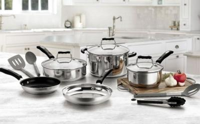 Cuisinart 12-Piece Cookware Set ONLY $79.99 (Reg $300) + FREE Shipping – Today Only!