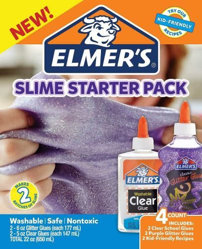 Elmer's Rainbow Slime Starter Kit with Green for $4.99