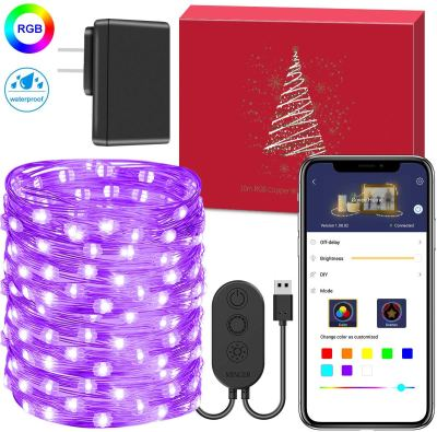Amazon : Fairy Lights with App Just $6.99 W/Code (Reg : $13.99) (As of 12/11/2019 9.14 PM CST)