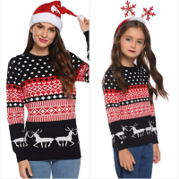 Amazon : Family Matching Christmas Sweater Just $5.40 W/Code (Reg : $35.99) (As of 12/06/2019 5.30 AM CST)