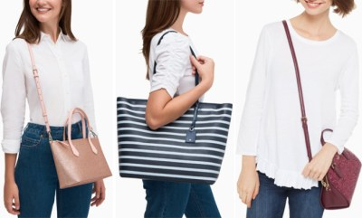 Kate Spade: Up to 75% Off Surprise Sale on Cyber Week – Bags Starting at ONLY $49! SO CUTE!