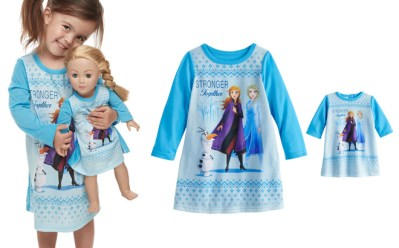 Kohl's : Girls & Dolls Matching Nightgown Sets Starting at Just $8.28 (Reg : $34)