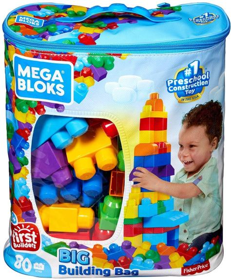 Mega Bloks First Builders 80-Piece Bag Only $11.99 Shipped (Regularly $25)
