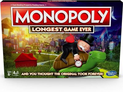Amazon : Monopoly LONGEST Game Ever (Amazon Exclusive) Just $19.99 (As of 12/22/2019 8.16 PM CST)