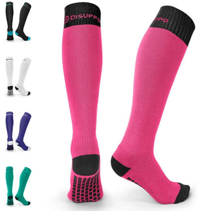 Amazon : Non-slip Long Sport Socks Just $4.31 + 6% Off Coupon W/Code (Reg : $8.99) (As of 12/11/2019 8.11 PM CST)