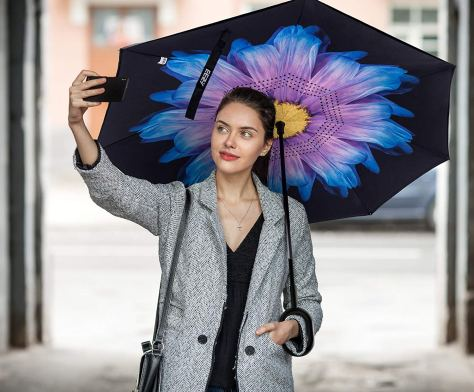 Reverse Fold Inverted Umbrellas as Low as $19 at Amazon   Choose from Eleven Colors
