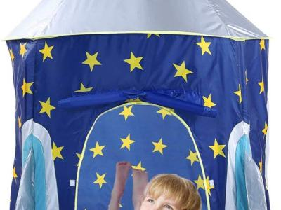 Amazon : Rocket Ship Kids Tent Just $14.49 W/Code (Reg : $28.99) (As of 12/19/2019 1.48 PM CST)