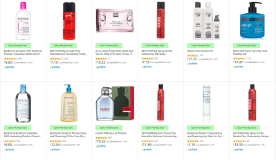 Amazon : SAVE ON LUXURY AND PROFESSIONAL BEAUTY FAVORITES Just STARTING AS LOW AS $3.19 W/Code (Reg : $3.19 - $113.75) (As of 12/02/2019 11.33 AM CST)