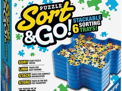 Amazon : Up to 1000 Pieces Sort and Go Jigsaw Puzzle Accessory Just $5.99 (Reg : $19.99 (As of 12/18/2019 9.38 AM CST)
