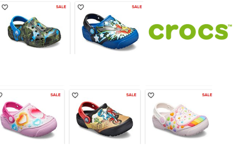 Crocs for the Family Starting at JUST $9.99 (Reg $20) – Many Styles Up to 60% Off!