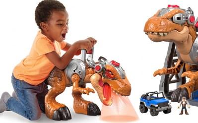 Imaginext Jurassic T-Rex Dinosaur Play Set JUST $30 + FREE Shipping (Regularly $99)