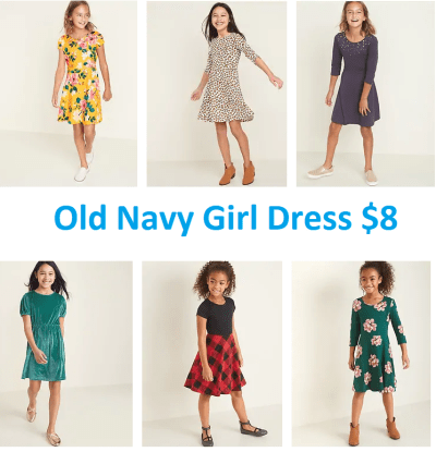 Old Navy Dresses for JUST $8 – $10 (Reg $35) – Today Only & In-Store & Online!