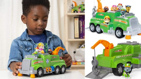Paw Patrol Rocky's Total Team Recycling Truck ONLY $15 at Amazon (Reg $34)