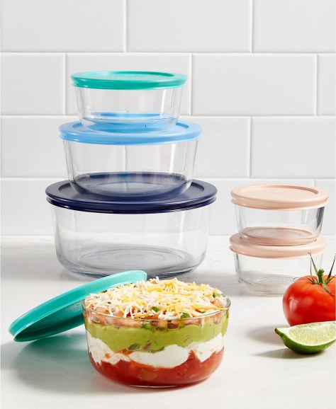 Pyrex 12-Piece Storage Set for ONLY $15.99 at Macy's (Regularly $48)