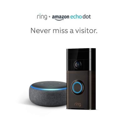 Ring Wi-Fi Smart Video Doorbell Only $79.99 Shipped (Regularly $150) + FREE Echo Dot