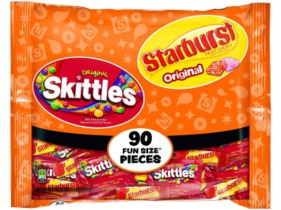 Skittles & Starburst Fun Size 90-Count Just $4.74 Shipped at Amazon (Regularly $10)