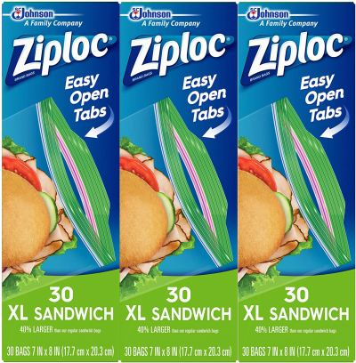 Ziploc Coupons & Storage & Sandwich Bags Deals (on Amazon!)