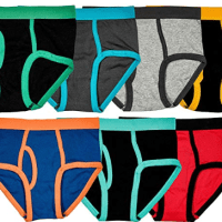 Amazon : 100% Cotton Colorful Briefs Underwear (Pack of 7) Just $5.89 (Reg : $14.98) (As of 1/21/2020 1.25 PM CST)